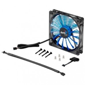 Ventilador AeroCool Shark - Blue Led - 140 mm