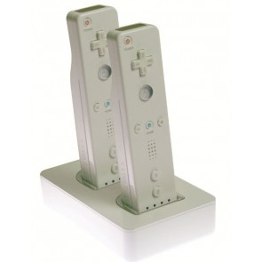 Wii - Estación de carga doble MadCatz