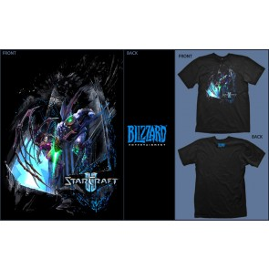 Camiseta Jinx STARCRAFT 2 Wings of Liberty-Talla L